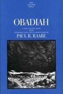 Obadiah (Anchor Yale Bible Commentaries Series) Hardback