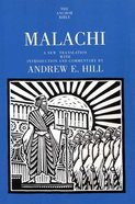 Malachi (Anchor Yale Bible Commentaries Series) Paperback