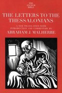 Letters to the Thessalonians (Anchor Yale Bible Commentaries Series) Paperback