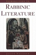 Introduction to Rabbinic Literature Paperback