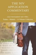 NIV Application Commentary, Old Testament Set Two: Psalms-Malachi (12 Vols) Hardback