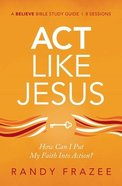 Be Like Jesus Study Guide eBook
