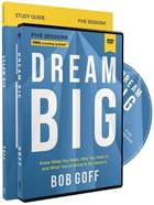 Dream Big (Study Guide With Dvd) Pack