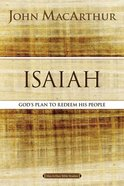 Isaiah (Macarthur Bible Study Series) eBook