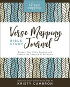 Verse Mapping Bible Study Journal Hardback