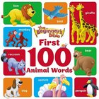 The Beginner's Bible First 100 Animal Words Board Book