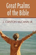 Great Psalms of the Bible Paperback