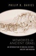 Memories of Ancient Israel Paperback