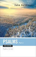 Psalms For Everyone (Part 2) (Old Testament Guide For Everyone Series) Paperback