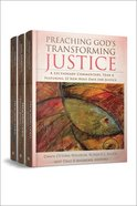 Preaching God's Transforming Justice (Three-volume Set) Hardback