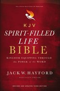 KJV Spirit-Filled Life Bible (Red Letter Edition) (3rd Edition) Hardback