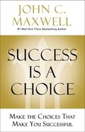 Success is a Choice eBook