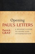 Opening Paul's Letters Paperback