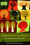 Meditations on the Psalms Paperback