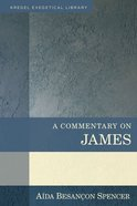 A Commentary on James (Kregel Exegetical Library Series) Hardback
