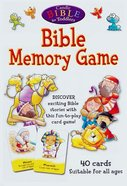 Bible Memory Game (Candle Bible For Toddlers Series) Game