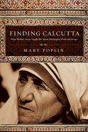 Finding Calcutta Paperback