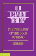 The Theology of the Book of Kings Paperback