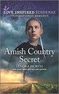 Amish Country Secret (Love Inspired Suspense Series) Mass Market