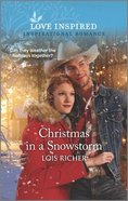Christmas in a Snowstorm (Calhoun Cowboys) (Love Inspired Series) Mass Market