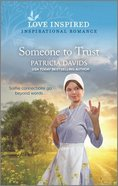 Someone to Trust (North Country Amish) (Love Inspired Series) Mass Market