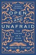 Open and Unafraid eBook