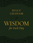 Wisdom For Each Day (Large Print) Premium Imitation Leather