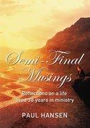 Semi-Final Musings eBook
