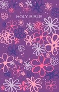ICB Gift & Award Bible Purple Flowers (Black Letter Edition) Paperback