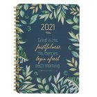 2021 12-Month Diary/Planner: Great is His Faithfulness Spiral