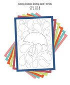 Coloring Creations Greeting Cards For Kids - Splash: With Scripture (Tm) Box