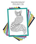 Coloring Creations Greeting Cards: Imagination: With Scripture Cards