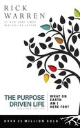 The Purpose Driven Life (Unabridged, 9 CDS) (The Purpose Driven Life Series) CD