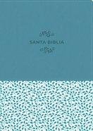 Ntv Santa Biblia Edicion De Referencia Ultrafina Letra Grande Azul (Red Letter Edition) Imitation Leather