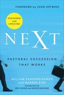 Next: Pastoral Succession That Works Hardback