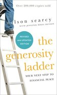 The Generosity Ladder: Your Next Step to Financial Peace Paperback
