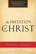 The Imitation of Christ (Paraclete Essentials Series) Paperback
