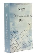 NKJV Larger Print Free on the Inside Prison Bible Paperback