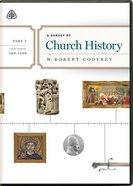 Survey of Church History, a (2 Dvds) (Part 2 A.d. 500-1500) DVD
