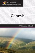Genesis (Six Themes Everyone Should Know Series) Paperback