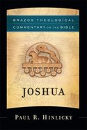 Joshua (Brazos Theological Commentary On The Bible Series) Hardback