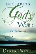 Declaring God's Word Paperback