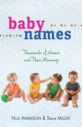 Baby Names Paperback