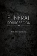 Funeral Sourcebook Hardback