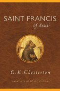 Saint Francis of Assisi (Paraclete Heritage Edition Series) Paperback