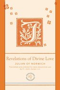 Revelations of Divine Love (Paraclete Essentials Series) Imitation Leather