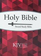 Kjver Sword Personal Size Large Print Study Bible Paperback