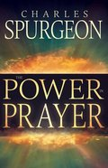 The Power in Prayer Paperback