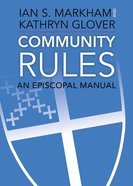Community Rules: A Episcopal Manual Paperback
