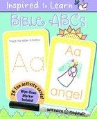 Bible ABCS: Wipe-Clean Flash Card Set Cards